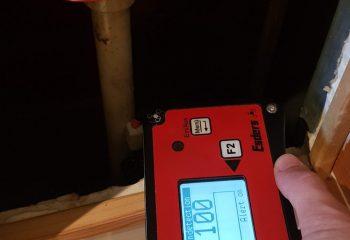 meranie úniku špeciálnym plynom